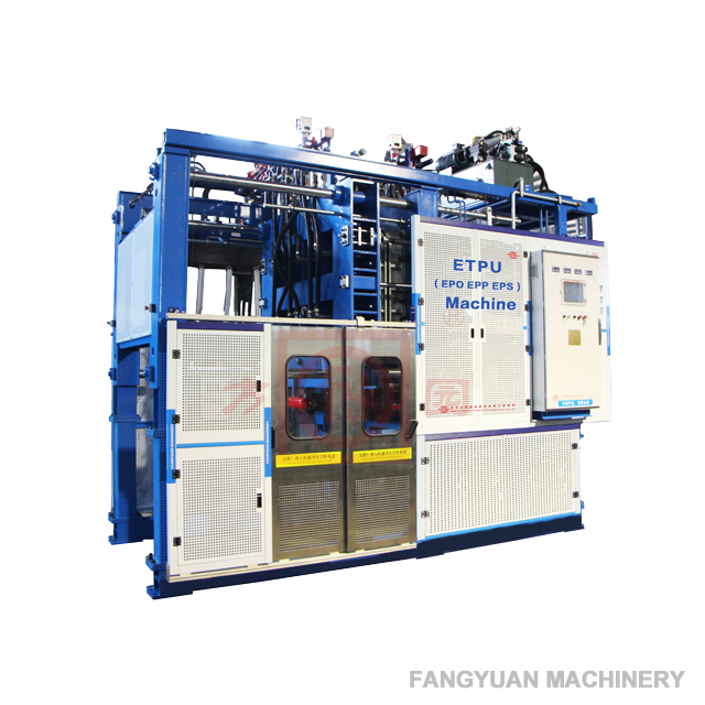 Epo foam moulding machine with new technology