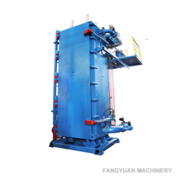 Polystyrene block moulding machine with high efficient