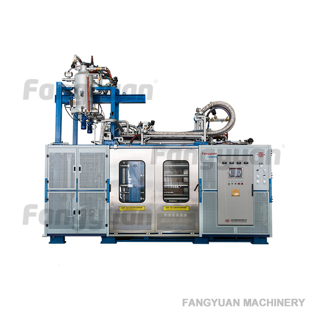 Hangzhou Fangyuan fast mould change expanded polypropylene epp foam molding machine for EPP airplane foam