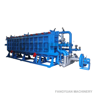 Fangyuan full automatic eps expandable polystyrene styrofoam building block sheet making machine
